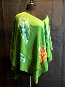 Birds of Paradise  Asymmetrical Blouse 1