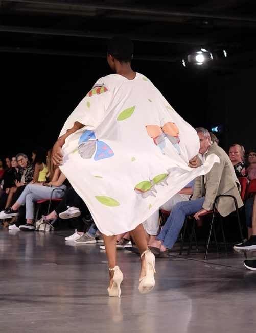 Butterflies Long Poncho