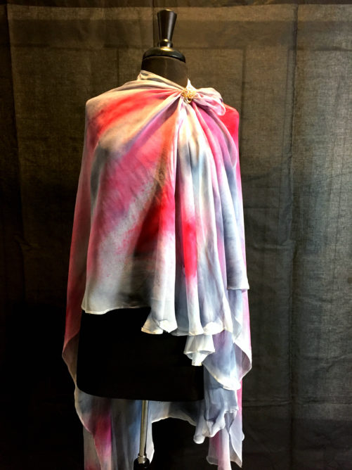 Elegant Colors Long Poncho 3