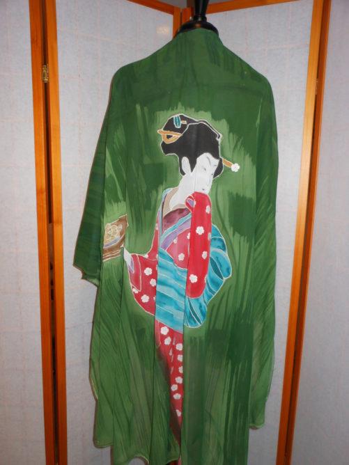 Geisha Poncho 1