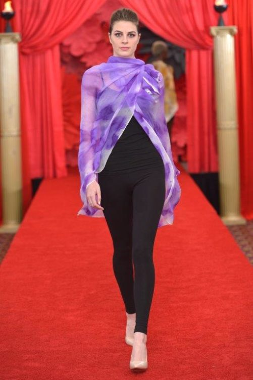 Orchid Poncho